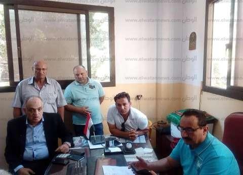 رئيس مركز المحلة يبحث إنشاء مشروع محطة الصرف الصحي بقرية بلقينا