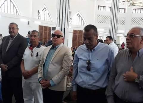 محافظ بورسعيد يفتتح مسجد أبوبكر الصديق بحي الضواحي