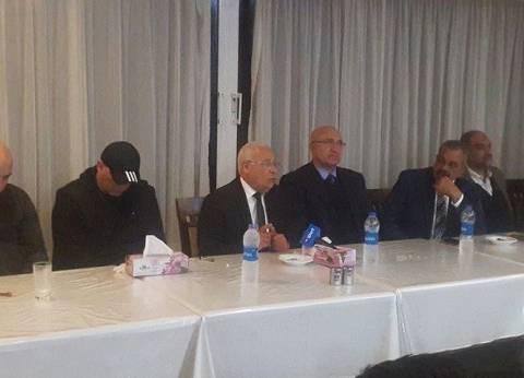 """محافظ بورسعيد يلتقي بلاعبي """"المصري"""" قبل السفر لأداء مباريات كأس الكونفدرالية"""