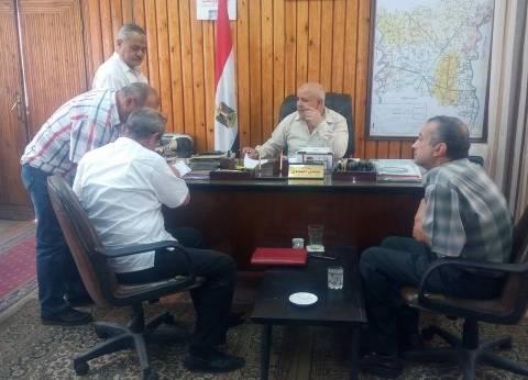 بالصور  وكيل وزارة زراعة الغربية يعقد برتوكولا للنهوض بالريف المصري
