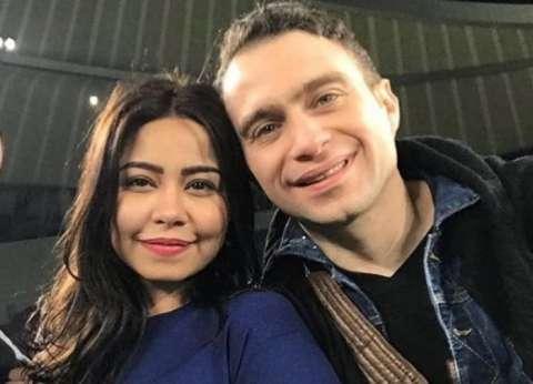 شيرين وحسام حبيب أبرز المشاهير في مباراة السوبر