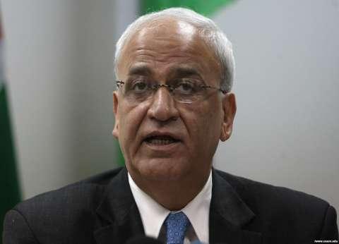 عريقات: محاولات إسرائيلية لإلغاء فكرة إقامة دولة فلسطين