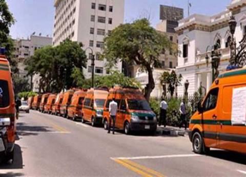 163 سيارة إسعاف بمراكز ومدن الدقهلية لتأمين الانتخابات