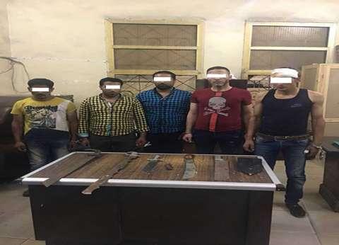 القبض على 10 متهمين ارتكبوا 22 جريمة سرقة