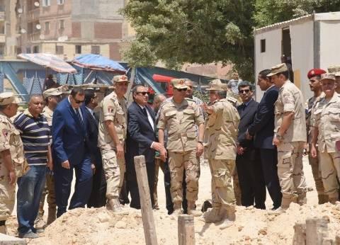 محافظ الإسكندرية يتفقد أعمال تطوير مشروع محور المحمودية
