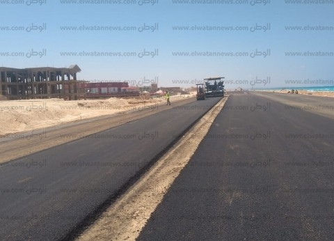 """محافظ مطروح: رصف وتطوير """"كورنيش الأبيض الجديد"""" بطول 10 كيلومتر"""