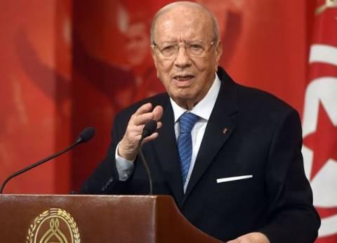 """الرئيس التونسي يصل إلى مصر للمشاركة في القمة """"العربية - الأوروبية"""""""