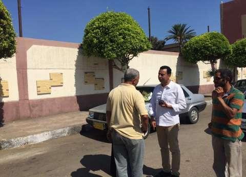 رئيس حى شرق يتابع أعمال صيانة الكهرباء ببورسعيد