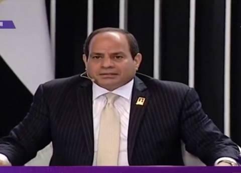"""السيسي: """"الجيش لا يحمي نظام.. المهم مصر"""""""