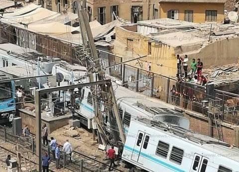 """""""مترو الأنفاق"""": القطار الذي خرج عن القضبان بالمرج كان خاليا من الركاب"""