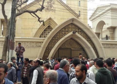 رفع حالة الطوارئ لتأمين خروج جثامين شهداء كنيسة ماري جرجس بطنطا