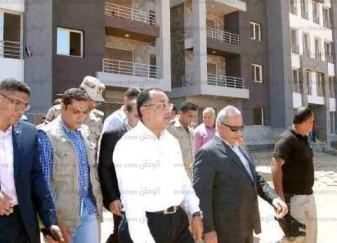 """""""الإسكان"""": تركيب 26 مصعدا كهربائيا بـ""""دار مصر"""" في برج العرب الجديدة"""