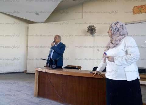بالصور| بالكرنفالات والبالونات.. جامعة كفرالشيخ تستقبل 60 ألف طالب