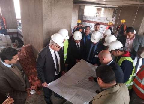 رئيس جامعة القاهرة يعلن انتهاء ترميم معهد الأورام