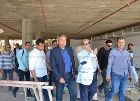 وزير الشباب: طورنا الصالة المغطاة في استاد القاهرة بـ216 مليون جنيه
