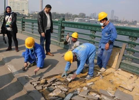 محافظ القاهرة يتفقد أعمال تطوير مشروع كورنيش النيل