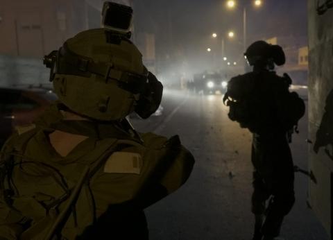 إصابة عدد من الفلسطينيين بحالات اختناق بمواجهات مع الاحتلال غربي جنين