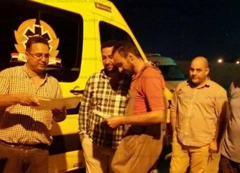 """""""الصحة"""": وفاة مواطنين وإصابة 8 في حادث بطريق """"القاهرة - الإسماعيلية"""""""
