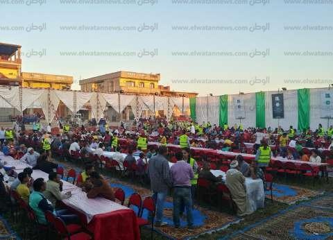 """فنانون ولاعبون يشاركون """"مصر الخير"""" في حفل إفطار """"أبيس 8"""" بالإسكندرية"""