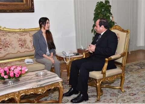 الفتاة الإيزيدية الفائزة بـ«نوبل» لـ«الوطن»: زيارتى لمصر منحتنى قوة