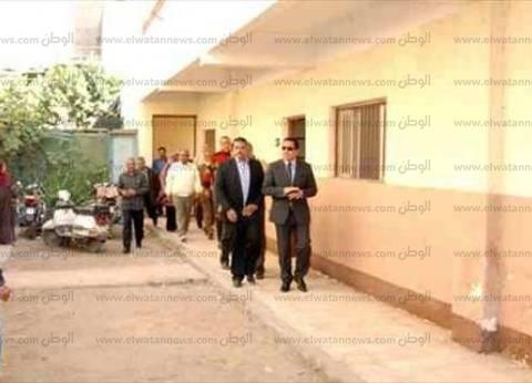 رضا عبدالسلام يتابع سير العملية الانتخابية من غرفة عمليات المحافظة