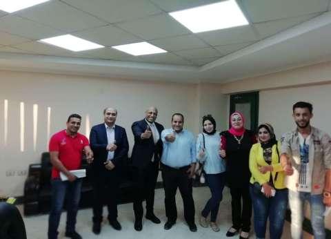 """شباب """"المصريين الأحرار"""" تزور وزارة الشباب والرياضة في القاهرة"""