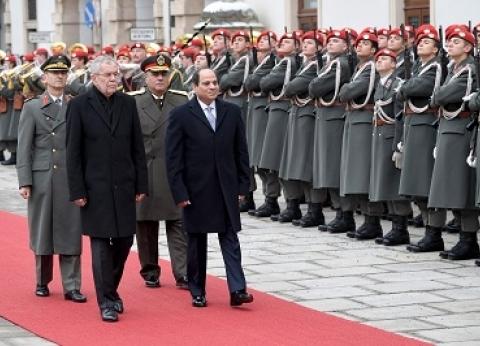 الرئيس من فيينا: ملتزمون أمام التاريخ برعاية اللاجئين فى مصر.. ولن نتركهم لمصير «البحر»