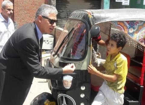 """رئيس حي المعصرة: إدارة المرور صاحبة القرار في وقف """"التوك توك"""""""