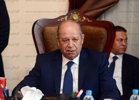 """""""أبو العزم"""" يستقبل وزير التموين لتهنئته بتوليه رئاسة مجلس الدولة"""