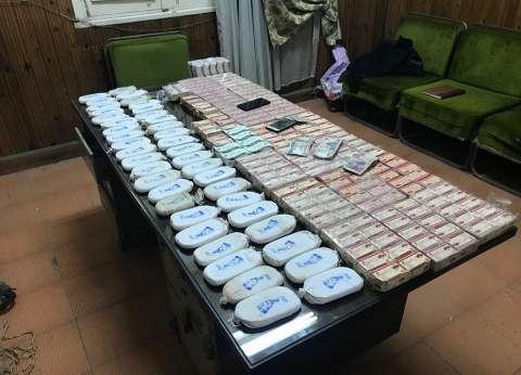 "ضبط 7 متهمين بمطروح وبحوزتهم 15 كيلو و400 جرام ""حشيش"""