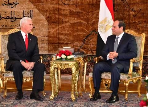 بنس يثمن دور مصر التاريخي في عملية السلام والحفاظ على استقرار المنطقة