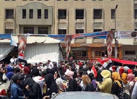 """مسيرة كبرى لحث المواطنين على المشاركة في الاستفتاء بـ""""العباسية"""""""