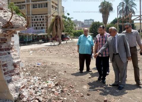 """""""حي الإسماعيلية"""" يشن حملات لرفع الإشغالات في سوق بورسعيد"""