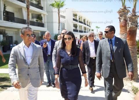 وزيرة السياحة تفتتح فندق العلمين الجديد بالساحل الشمالي
