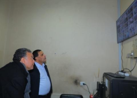 وزير النقل يتابع تشغيل منظومة المراقبة بالكاميرات لمحطة الجيزة