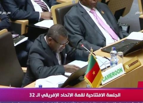 رئيس الكاميرون يعلن تشكيل مكتب الاتحاد الإفريقي لعام 2019