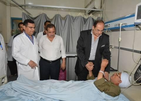 محافظ سوهاج يتفقد مستشفى طهطا