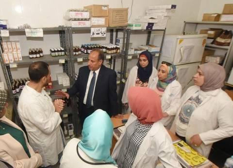 محافظ الإسكندرية يتفقد وحدة صحة الأسرة بأبيس 8