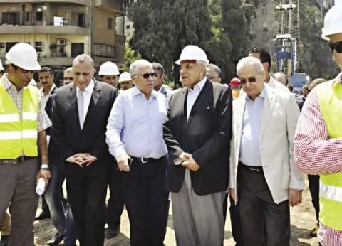 «محلب» يطالب الشركة المنفذة لـ«نفق النهضة» بالانتهاء من تنفيذ المشروع فى مارس المقبل