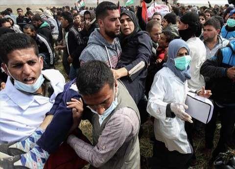 الصحة الفلسطينية: 127 شهيدا و14700 مصابا منذ بدء مسيرات العودة