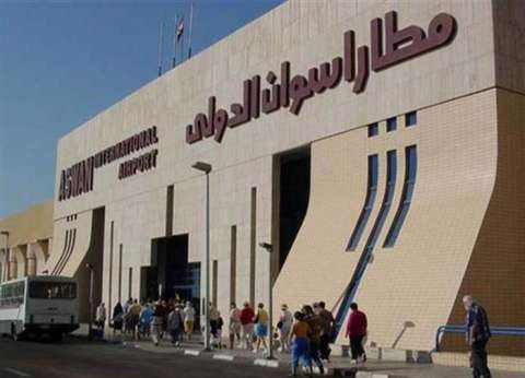 عودة حركة الملاحة بمطار أسوان الدولي بعد تحسن الأحوال الجوية