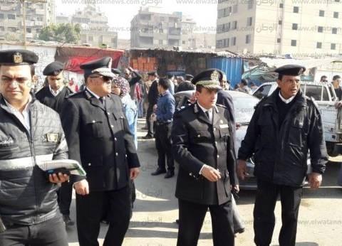 حملات أمنية لتطهير البؤر الإجرامية وإزالة الإشغالات بالجيزة