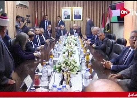 عاجل  وفد مصري رفيع المستوى يزور غزة