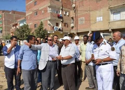 محافظ الإسماعيلية يشيد بنجاح حملة النظافة في حي ثاني