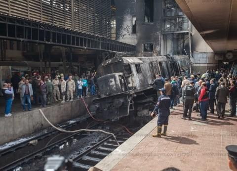 """مذيعة """"mbc"""" باكية: """"محدش ينشر صور وفيديوهات حريق محطة مصر"""""""