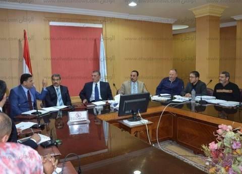 بالصور| محافظ كفرالشيخ يبحث مشاكل المستثمرين مع مجلس إدارة المناطق الصناعية