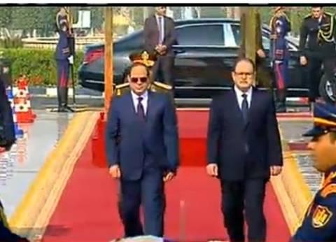 السيسي للمصريين: محدش يحول البوصلة عن الطريق اللي إحنا واخدينه