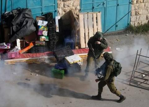 إصابة 5 فلسطينيين برصاص الجيش الإسرائيلي وسط الضفة الغربية
