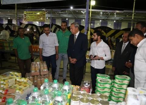 """محافظ قنا يفتتح ثلاثة معارض """"أهلا رمضان"""" للسلع الغذائية"""