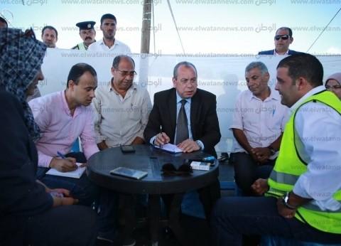 محافظ كفر الشيخ: إنشاء طرق وكباري بـ79 مليون جنيه وافتتاح بعضها قريبا